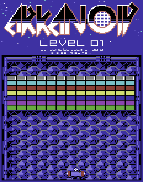 arkanoid level 01