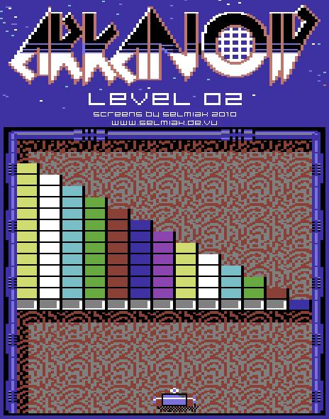 arkanoid level 02