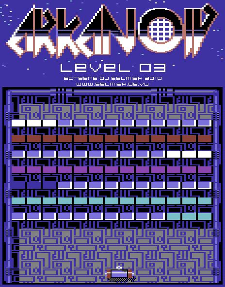 arkanoid level 03