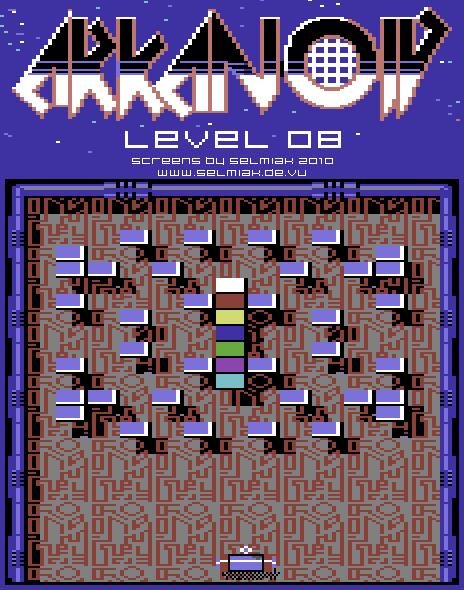 arkanoid level 08