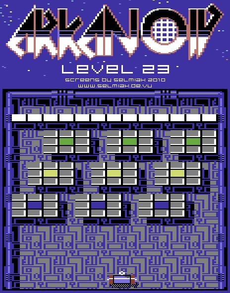 arkanoid level 23