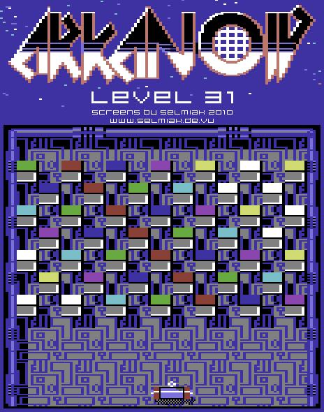 arkanoid level 31