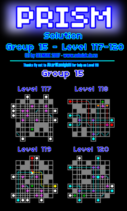 Ds Prism Level 113 114 115 116 117 118 119 120 Group 15