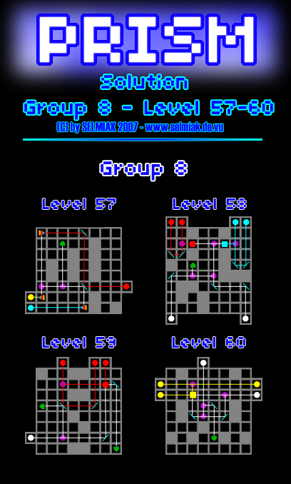 Ds Prism Level 57 58 59 60 61 62 63 64 Group 08