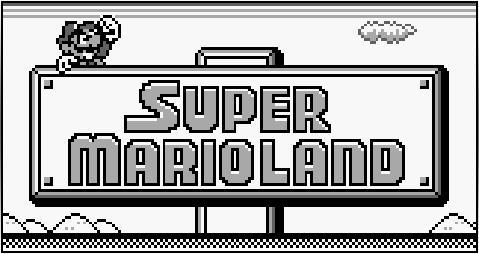 super mario land logo