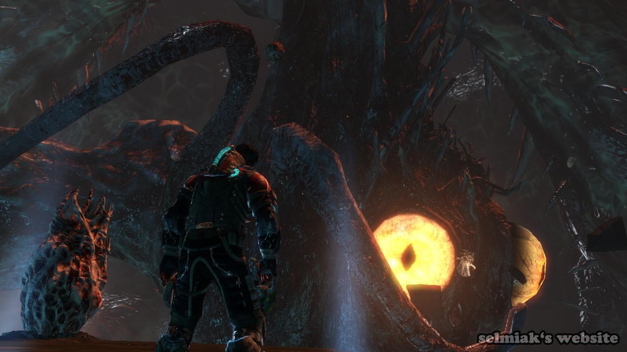 Dead Space 3 Blood Moon Boss Fight Chapter 19 Final Boss