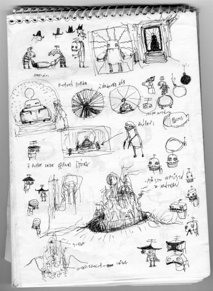 machinarium concept art