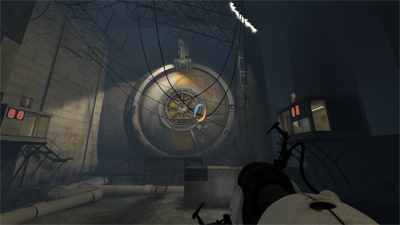 Portal 2 Chapter 6 The Fall Walkthrough Tower Condemned