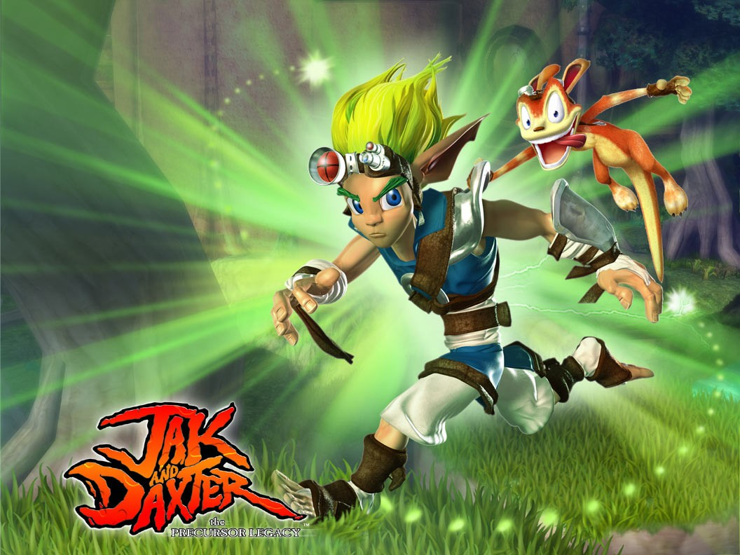 Jak And Daxter Wallpaper: Jak And Daxter Overview + World Map PS2 PlayStation 2 PS3