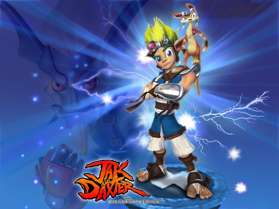 Jak And Daxter Overview World Map Ps2 Playstation 2 Ps3