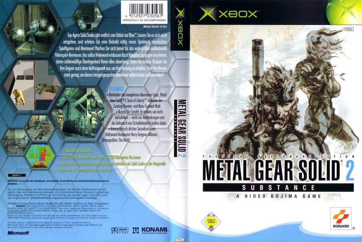 metal gear solid 2 download