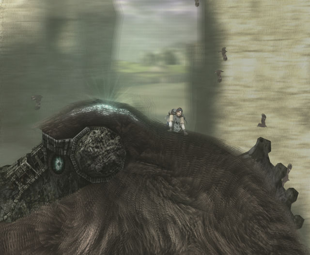 how to get the parachute in shadow of the colossus