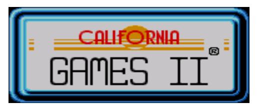 California Games II logo