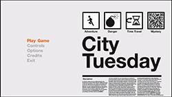 City Tuesday Main Menu